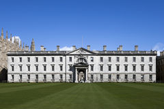 The Gibbs' Building of King's College, University of Cambridge. Royalty Free Stock Images