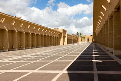 Gibellina New City - The Square System by Thermes-Purini Stock Photos