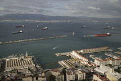 Gibilterra Fotografie Stock Libere da Diritti