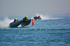 Gibilterra - tuono Cat Racing European Championships 2014 Immagine Stock Libera da Diritti