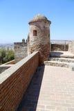 Gibralfaro城堡在马拉加,安大路西亚,西班牙 免版税库存照片
