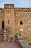 Gibralfaro castle (Alcazaba de Malaga), Spain Stock Photo