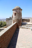 Gibralfaro Castle in Malaga, Andalusia, Spain Royalty Free Stock Photo