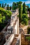 Gibralfaro fortress (Alcazaba de Malaga) Royalty Free Stock Image