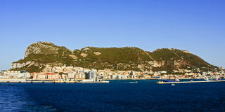 Gibraltar Royaltyfri Fotografi