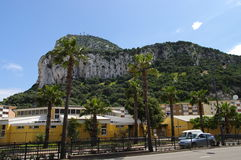 Gibraltar Royalty-vrije Stock Afbeeldingen