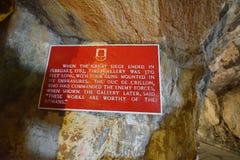 Gibraltar Obrazy Royalty Free
