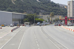 Gibraltar Airport Royalty Free Stock Photos