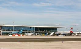 Gibraltar airport Royalty Free Stock Photos