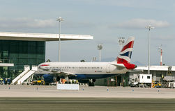 Gibraltar airport Stock Image