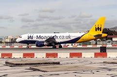 Gibraltar airport Stock Photography
