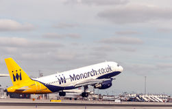 Gibraltar airport Stock Photos