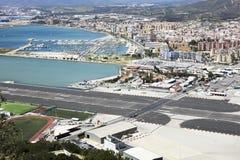 Gibraltar airport Stock Photo
