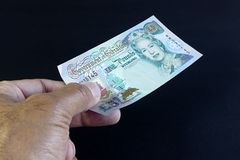 Gibraltar banknot Obrazy Royalty Free