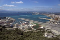 Gibraltar bay Obraz Royalty Free