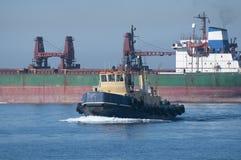 gibraltar bogserbåt Fotografering för Bildbyråer