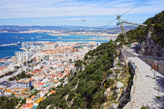 Gibraltar Cityscape Stock Photo