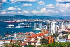 Gibraltar Coast Royalty Free Stock Photo