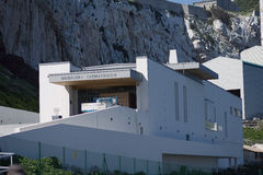 Gibraltar Crematorium Royalty Free Stock Images