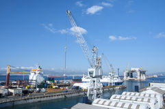 Gibraltar Dockyard Stock Photography
