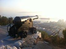 Gibraltar eniga Kindon Royaltyfria Bilder