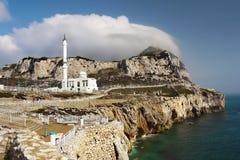 Gibraltar, Europa Point, Mosque stock photos