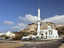 Gibraltar, Europa Point, Mosque royalty free stock photography