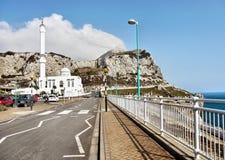 Gibraltar, Europa Point, Mosque stock photo