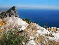 Gibraltar-Felsen Stockfoto
