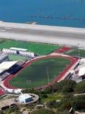 Gibraltar Football stadium Stock Photo
