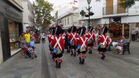 Gibraltar główna ulica Zdjęcie Stock