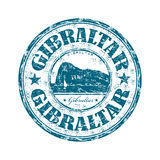 Gibraltar grunge rubber stamp Royalty Free Stock Images