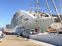 Gibraltar Harbor Marina Stock Photo