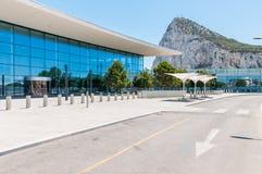 Gibraltar International Airport Terminal Royalty Free Stock Photos