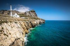 Gibraltar jak Widzieć od Europa punktu Obrazy Royalty Free