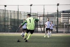 Gibraltar Kołysa filiżanka Kwartalnych finały Europa 2-0 Europa punkt - futbol - Obraz Royalty Free