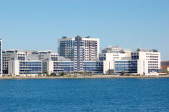 Gibraltar-Krankenhaus Stockfoto