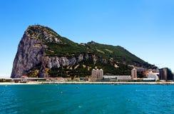 Gibraltar la mayoría de la punta del sur de Europa Fotos de archivo libres de regalías
