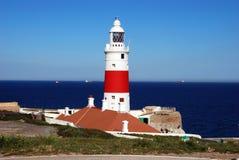 Gibraltar latarnia morska Zdjęcie Royalty Free