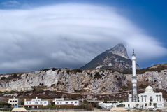 gibraltar liggande Royaltyfri Foto