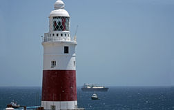 Gibraltar lighthouse Stock Photography