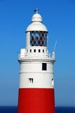 Gibraltar lighthouse. Royalty Free Stock Image