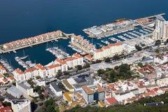 Gibraltar Marina Royalty Free Stock Images