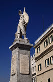 Gibraltar Memorial statue Royalty Free Stock Photos