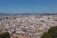 Gibraltar. Mening van de Rots van Gibraltar. Royalty-vrije Stock Fotografie