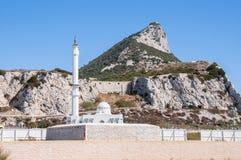 gibraltar moské Arkivbilder