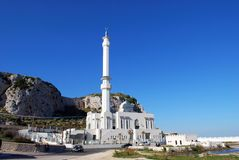 Gibraltar mosque. Royalty Free Stock Photos