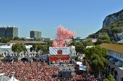 Gibraltar National Day Celebrations Royalty Free Stock Image