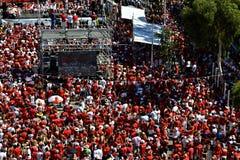 Gibraltar-Nationaltag Stockbild