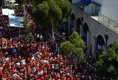 Gibraltar nationell dag 03 Arkivbild